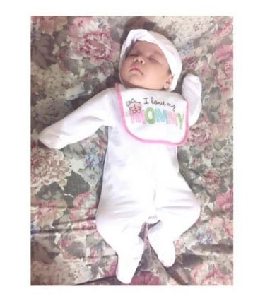 Baby Athalia (Photo from Empress Schuck's Instagram account)