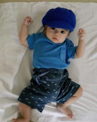 Baby Giddy (Photo from Juris Fernandez-Lim's Instagram account)