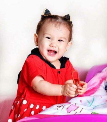 Baby Kiera Kelly (Photo from Melissa Ricks' Instagram account)