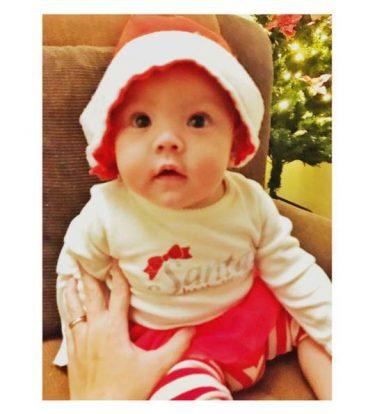 Baby Mia (Photo from Matet de Leon's Instagram account)