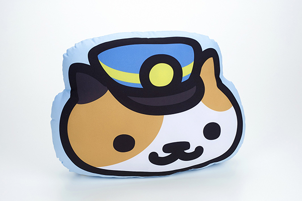 Conductor Whiskers cushion (Photo courtesy of Bandai)