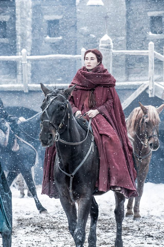Melisandre (Photo courtesy of HBO/ Game of Thrones official Facebook page)