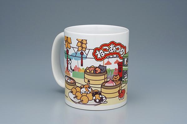 Limited edition Neko-Atsume mug (Photo courtesy of Bandai)