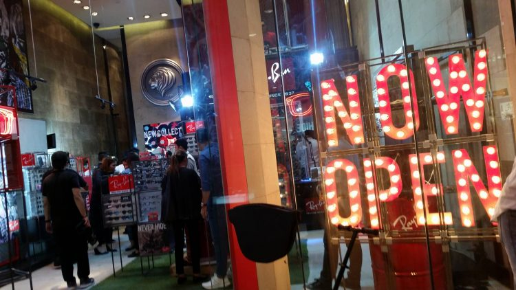 Ray-Ban Philippines is now open at Greenbelt 5 from 11 a.m. to 9 p.m.